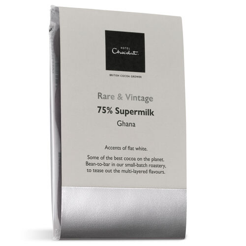 Ghana 75% Supermilk Chocolate, small, hi-res