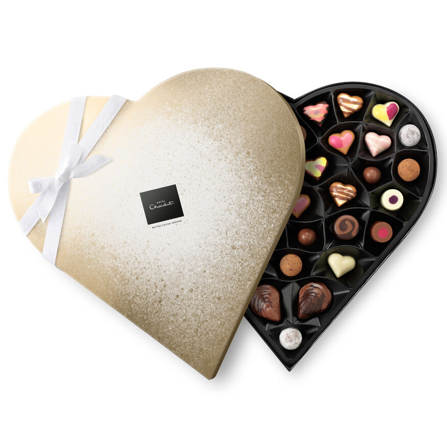 Heart Shaped Chocolate Box , , hi-res