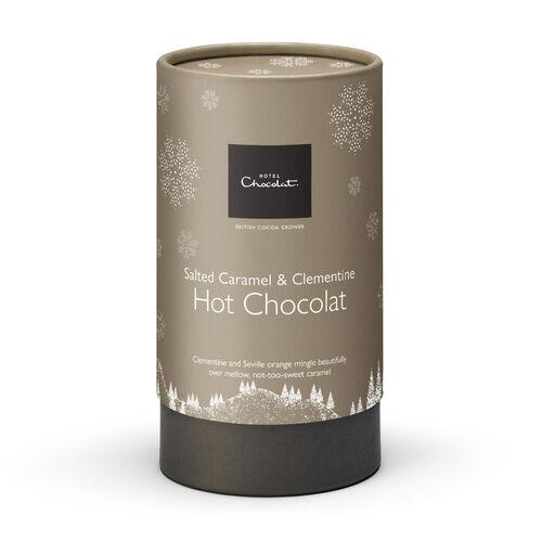 Salted Caramel & Clementine Hot Chocolat, , hi-res