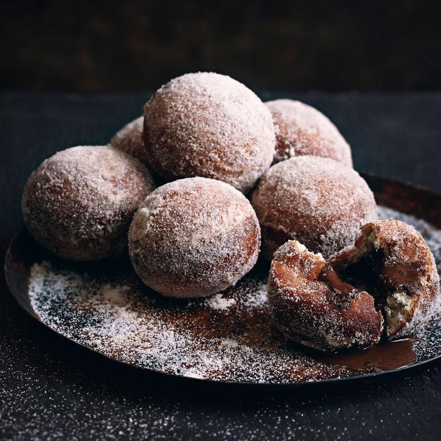 Truffle doughnuts, , hi-res