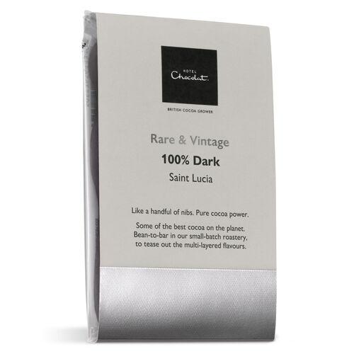 100% Saint Lucia Dark Chocolate – Rare & Vintage Chocolate Selector, , hi-res
