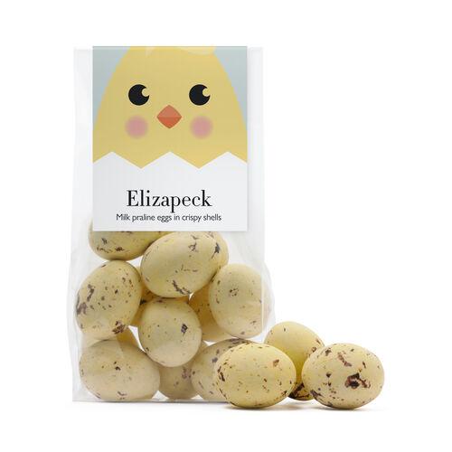 Elizapeck Speckled Mini Chocolate Eggs, , hi-res
