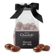 Milk Chocolate Salted Caramelised Almonds, , hi-res