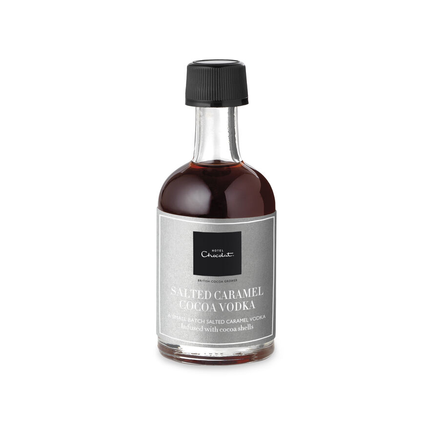 50ml Salted Caramel Cocoa Vodka Liqueur, Miniature, hi-res