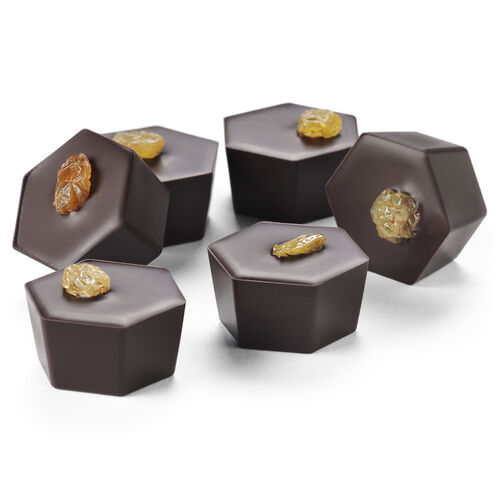 Boozy Sticky Toffee Pudding Chocolates Selector, , hi-res