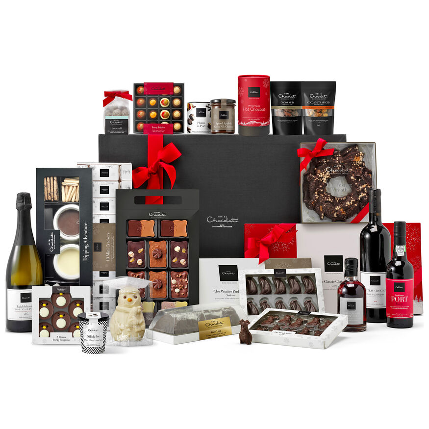 The Ultimate Chocolate Christmas Hamper, , hi-res