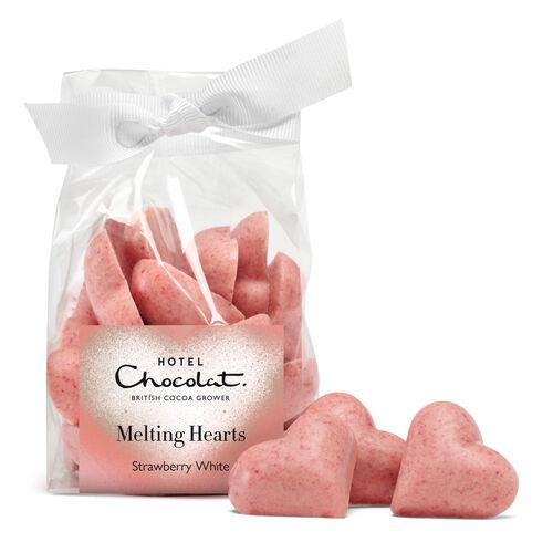 Chocolate Strawberry Hearts by Hotel Chocolat