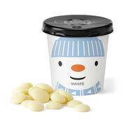 Chocolate Snowman Tiddly Pot - White, , hi-res