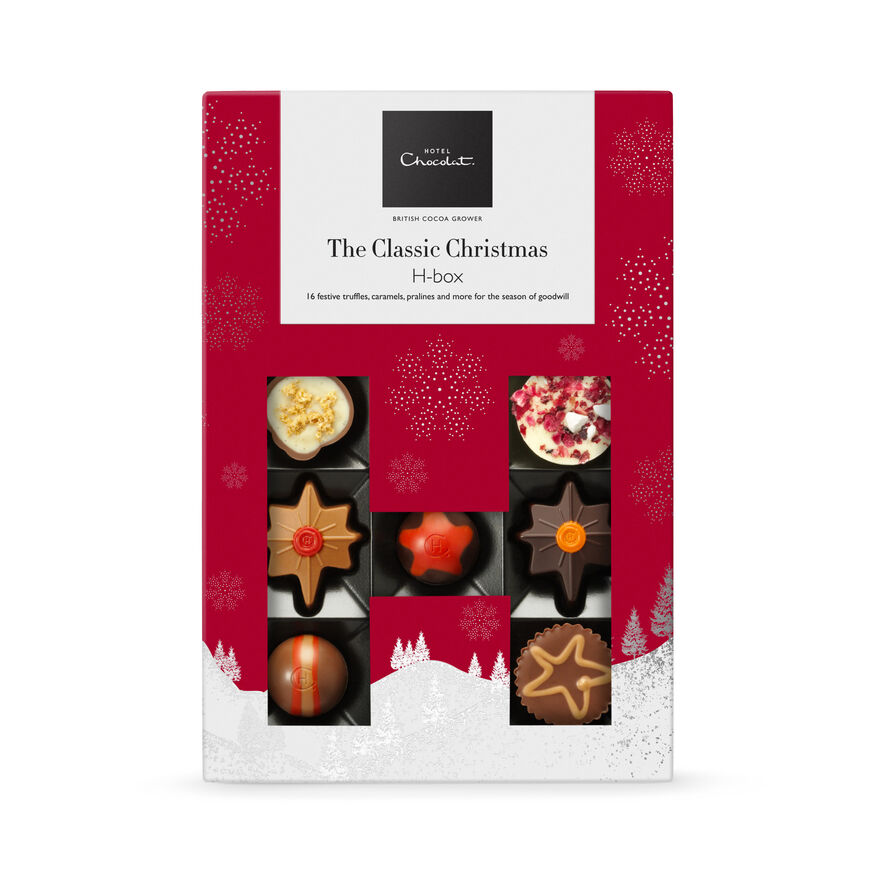 The Classic Christmas Chocolate H-box, , hi-res