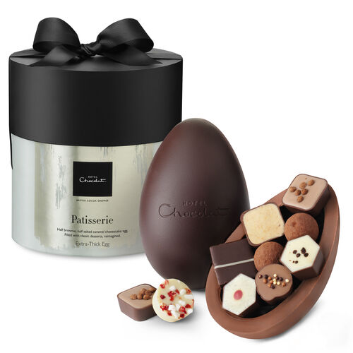 Patisserie Chocolate Easter Egg - Extra Thick, , hi-res
