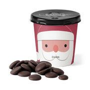 Chocolate Santa Tiddly Pot - Dark, , hi-res