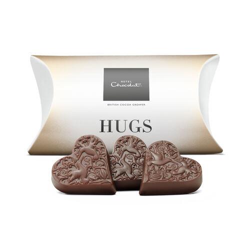 Hugs – Milk Chocolate Hearts, , hi-res