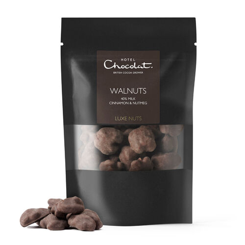 Luxe Nuts, Walnuts, 40% milk, Cinnamon & Nutmeg, , hi-res