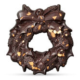 The Large Chocolate Christmas Wreath – Rare & Vintage, , hi-res