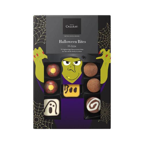 Halloween H-Box Chocolate Bites , , hi-res