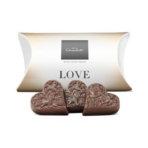 Love – Milk Chocolate Hearts, , hi-res