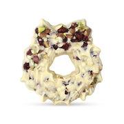 The Chocolate Christmas Wreath- White, , hi-res
