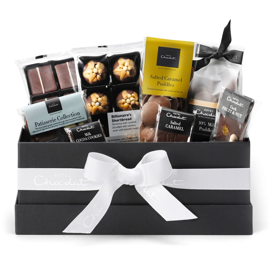 The everything gift collection chocolate hamper by hotel chocolat the everything chocolate gift hamper collection hi res negle Gallery