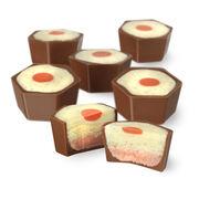 Custard & Rhubarb Chocolate Selector, , hi-res