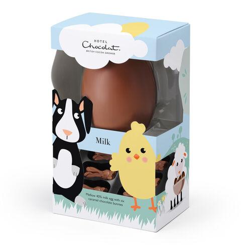 Rabbert & Elizapeck 40% Milk Children's Easter Egg, , hi-res