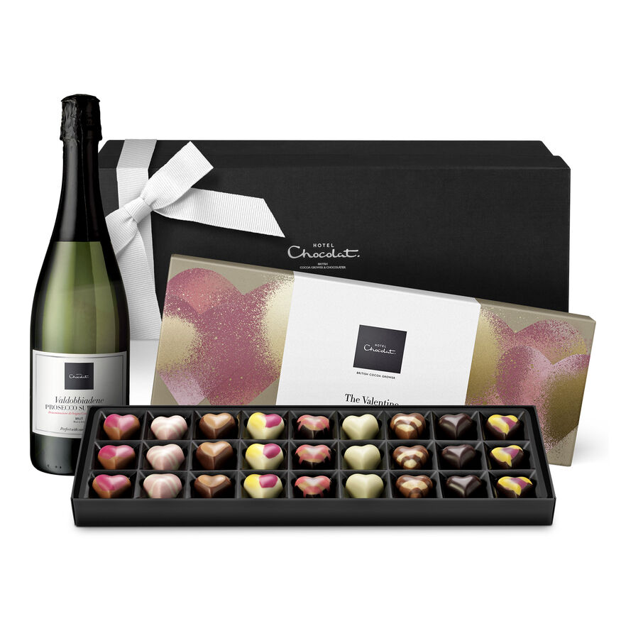 Valentine's Day Sleekster and Prosecco Hamper, , hi-res