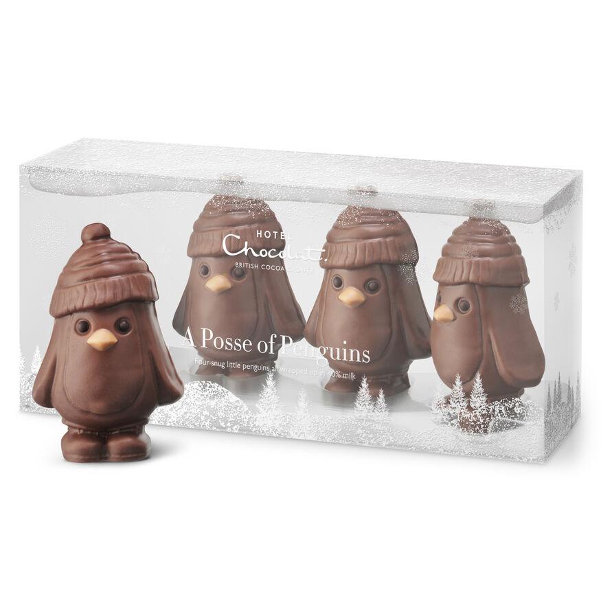 A Posse of Penguin Chocolates, , hi-res