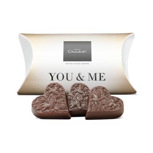 Me & You – Milk Chocolate Hearts, , hi-res