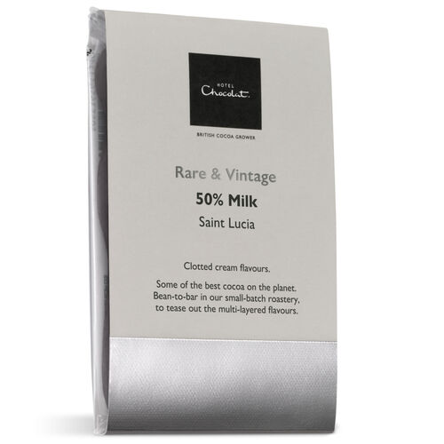 Saint Lucia 50% Milk Chocolate – Rare & Vintage Selector, , hi-res