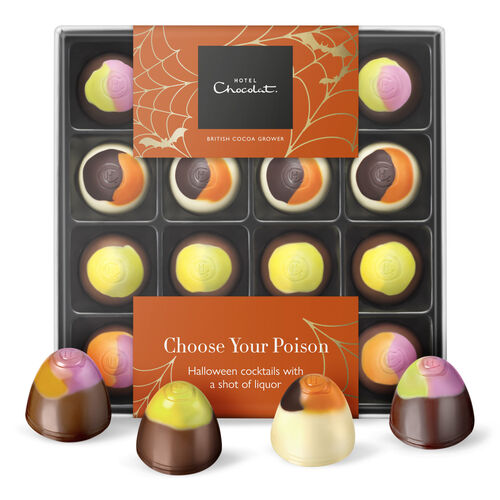 Choose Your Poison- Halloween Cocktail Chocolates, , hi-res