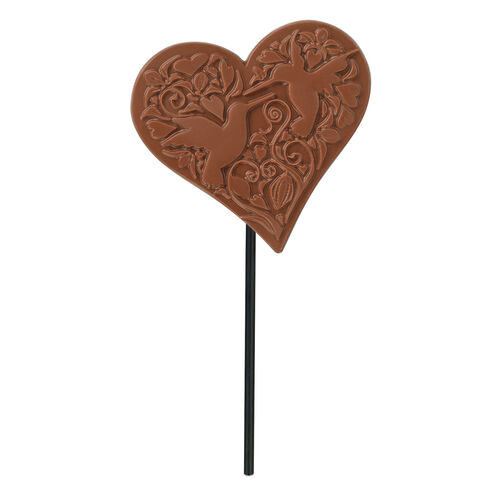 Milk Chocolate Heart Shaped Lolly , , hi-res
