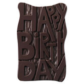 Dark Chocolate Birthday Gift, , hi-res