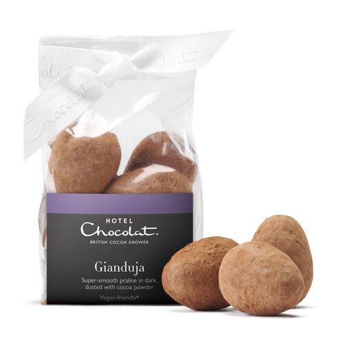 Gianduja Chocolate Ribbon Bag, , hi-res