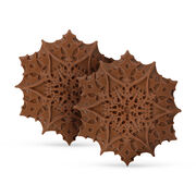 Christmas Chocolate Snowflakes – Salted Caramel, , hi-res