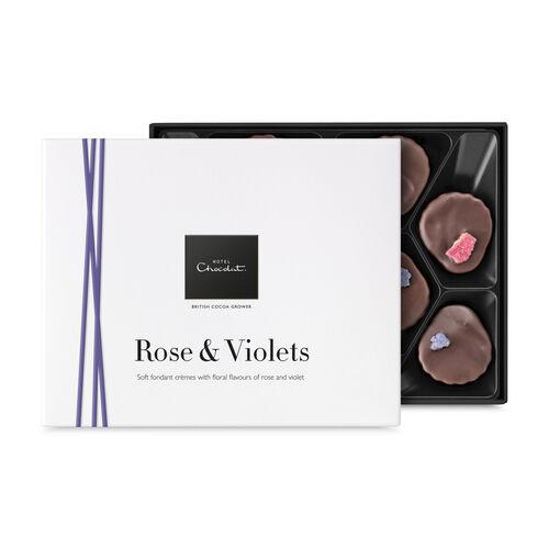 Rose & Violets, , hi-res