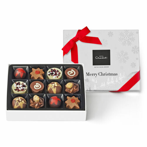 Merry Christmas chocolate Signature Box