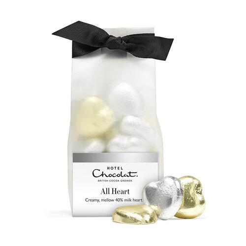 Chocolate Foil Hearts , , hi-res