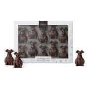 The Sleigh Team - Dark Chocolate Reindeers, , hi-res