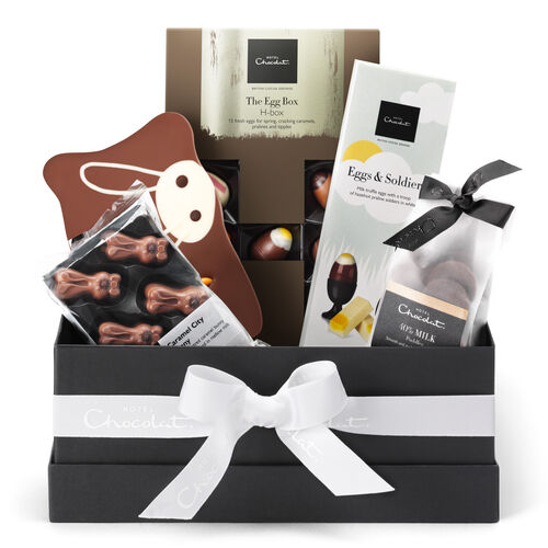 The Happy Easter Chocolate Hamper, , hi-res