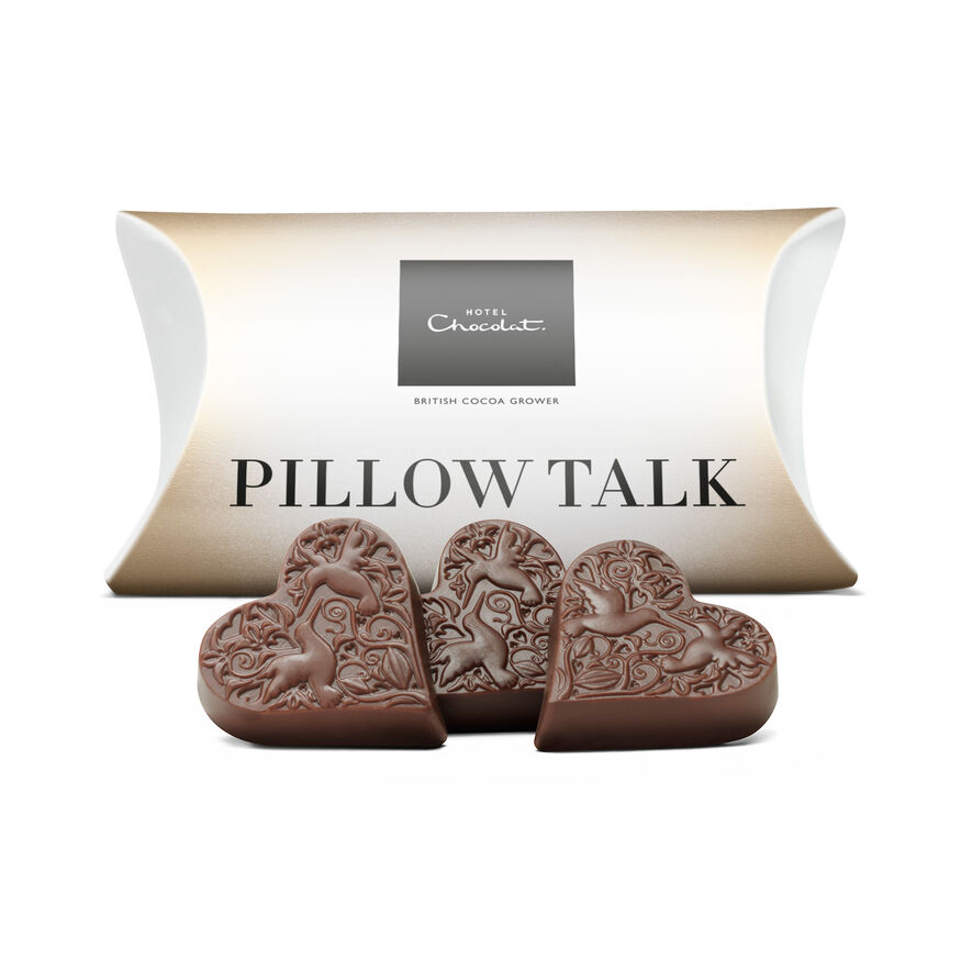 Pillow Talk – Milk Chocolate Hearts, , hi-res