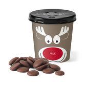 Chocolate Reindeer Tiddly Pot - Milk, , hi-res