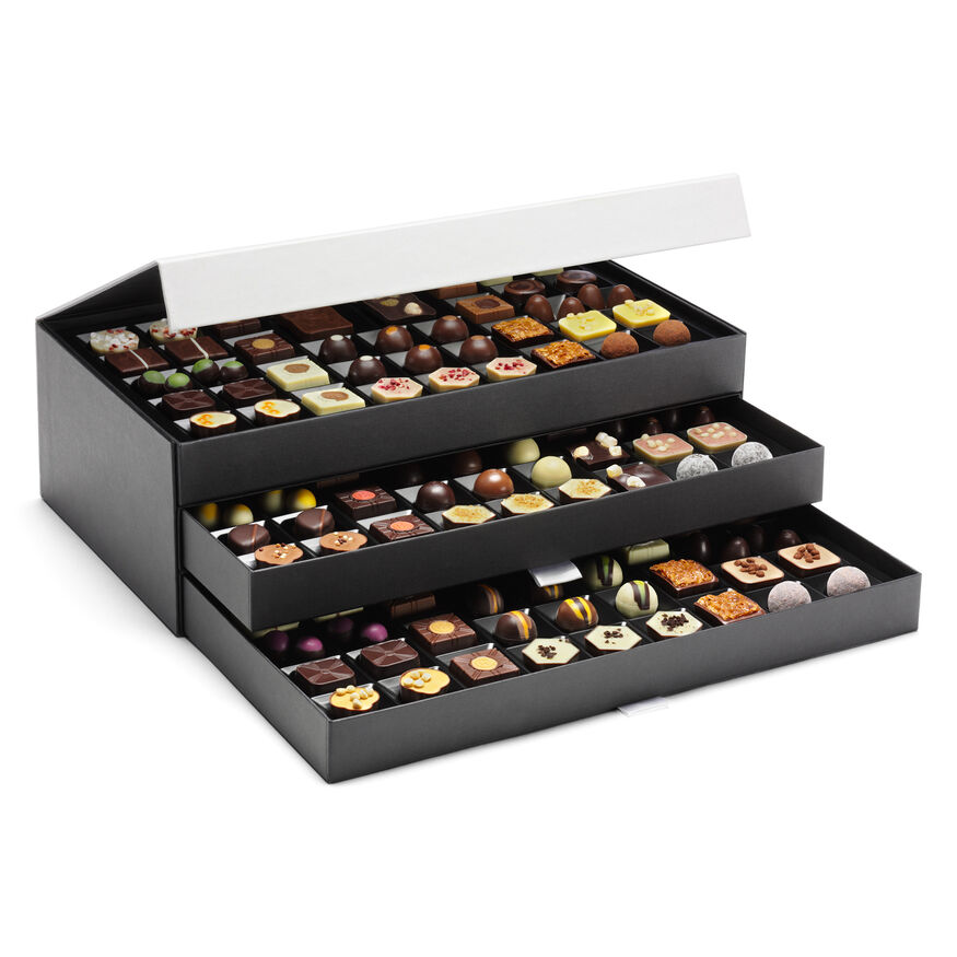 The signature chocolate cabinet by hotel chocolat the signature chocolate cabinet hi res negle Gallery