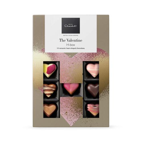 The Valentine Chocolate H-box, , hi-res
