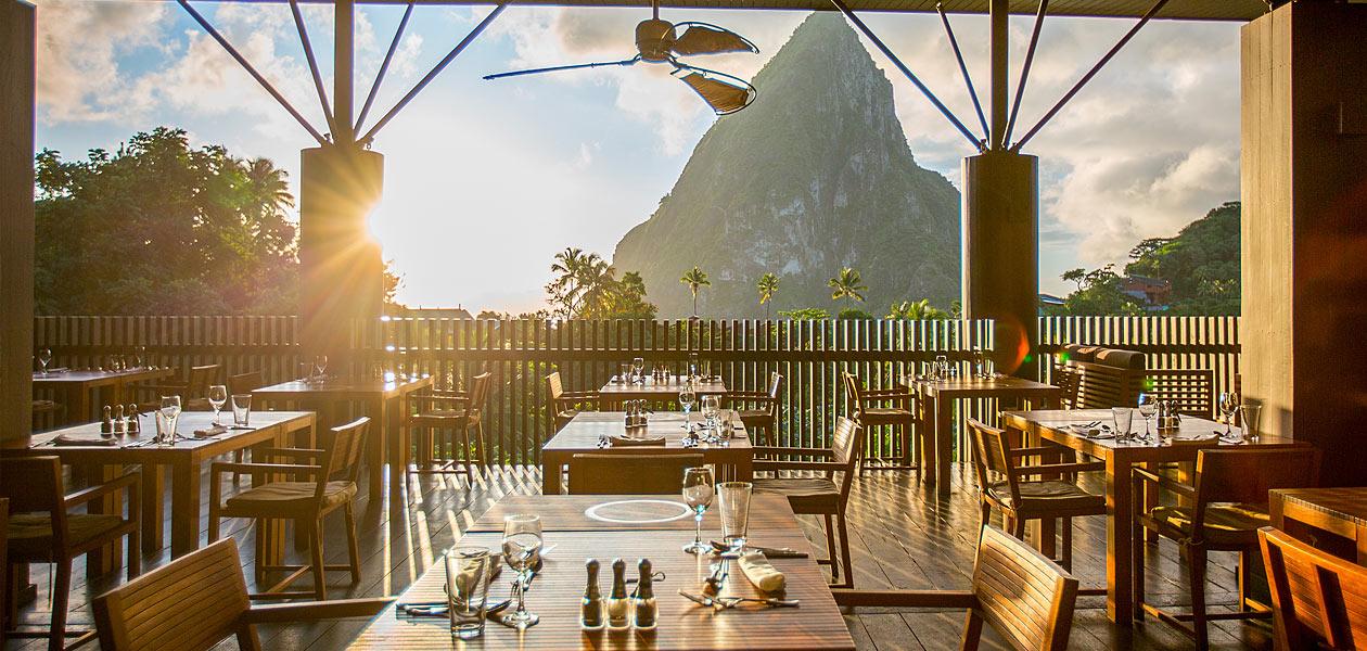 Boucan Restaurant St Lucia