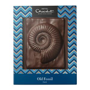 dark fossil chocolate slab