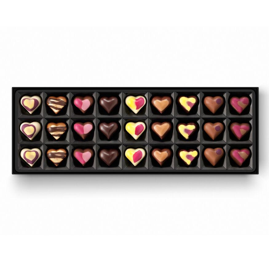 Valentines Chocolate Box Romantic Valentines Gift By Hotel Chocolat