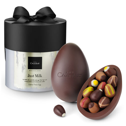 Milk Chocolate Easter Egg - Extra Thick, , hi-res