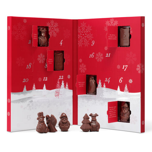 the advent calendar milk chocolate hi res