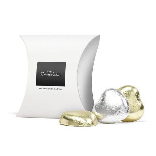Chocolate Foil Hearts From Hotel Chocolat