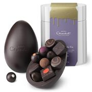 Extra Thick Dark Chocolate Easter Egg , , hi-res
