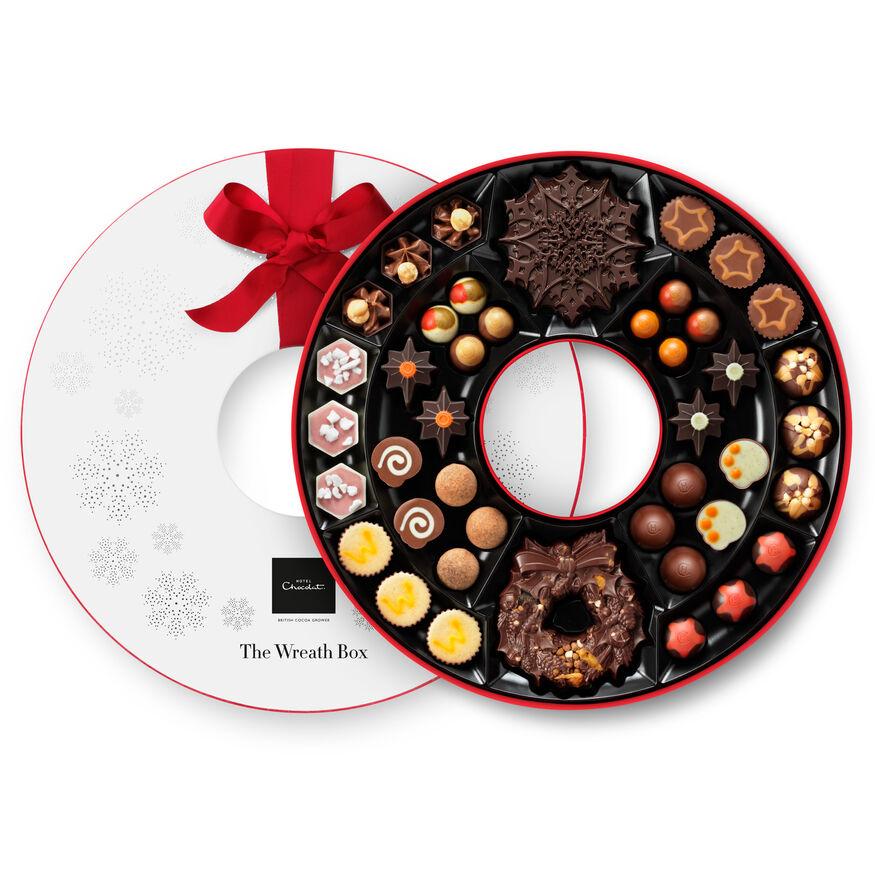 The Chocolate Wreath Box , , hi-res